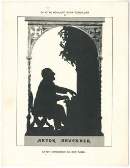 Anton Bruckner en silhouette. Source : http://data.abuledu.org/URI/54bbaedc-anton-bruckner-en-silhouette