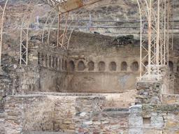 Apodyterium des thermes de Bilbilis en Espagne. Source : http://data.abuledu.org/URI/54cbc891-apodyterium-des-thermes-de-bilbilis-en-espagne