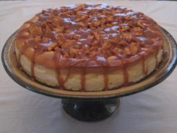 Apple caramel cheesecake. Source : http://data.abuledu.org/URI/531f199d-apple-caramel-cheesecake