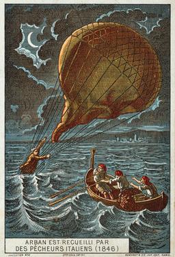 Arban est recueilli par des pêcheurs italiens en 1846. Source : http://data.abuledu.org/URI/5521c46a-arban-est-recueilli-par-des-pecheurs-italiens-en-1846