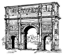 Arc de triomphe. Source : http://data.abuledu.org/URI/53eba5b1-arc-de-triomphe