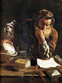 Archimède en 1620. Source : http://data.abuledu.org/URI/54c4e58e-archimede-en-1620