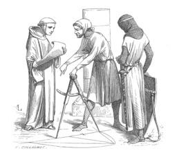 Architectes médiévaux. Source : http://data.abuledu.org/URI/50465ff6-architectes-medievaux