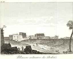 Architecture égyptienne en 1799. Source : http://data.abuledu.org/URI/591e2e81-architecture-egyptienne-en-1799