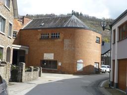 Architecture en brique à La Roche-en-Ardenne. Source : http://data.abuledu.org/URI/5715f225-architecture-en-brique-a-la-roche-en-ardenne