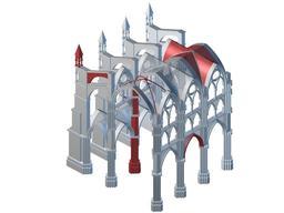 Architecture gothique. Source : http://data.abuledu.org/URI/5081487f-architecture-gothique
