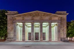 Architecture néo-classique à Berlin. Source : http://data.abuledu.org/URI/56d5ee3a-architecture-neo-classique-a-berlin
