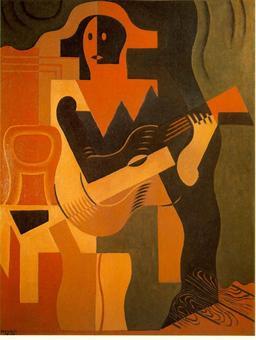 Arlequin à la Guitare. Source : http://data.abuledu.org/URI/50ff3ff5-arlequin-a-la-guitare