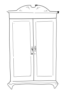 armoire dessin. Black Bedroom Furniture Sets. Home Design Ideas