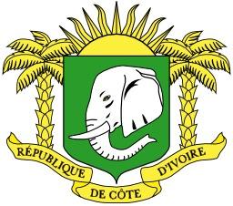 Armoiries de la Côte d'Ivoire. Source : http://data.abuledu.org/URI/5379c03b-armoiries-de-la-cote-d-ivoire