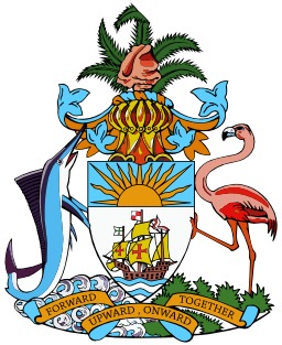 Armoiries des Bahamas. Source : http://data.abuledu.org/URI/5378f53c-armoiries-des-bahamas