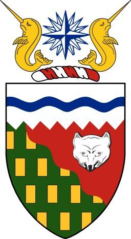 Armoiries des Territoires du Nord-Ouest au Canada. Source : http://data.abuledu.org/URI/5378cea1-armoiries-des-territoires-du-nord-ouest-au-canada