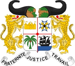 Armoiries du Bénin. Source : http://data.abuledu.org/URI/5378fc7f-armoiries-du-benin