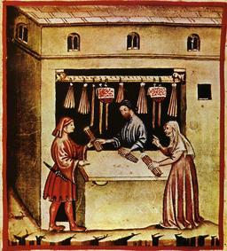 Aspect de la vie quotidienne médiévale : bougies. Source : http://data.abuledu.org/URI/50ca50bc-aspect-de-la-vie-quotidienne-medievale-bougies