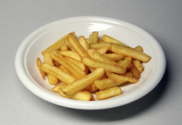 Assiette de frites. Source : http://data.abuledu.org/URI/502c149b-assiette-de-frites