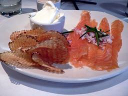 Assiette de saumon fumé. Source : http://data.abuledu.org/URI/52e42c10-assiette-de-saumon-fume