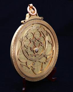 Astrolabe iranien. Source : http://data.abuledu.org/URI/565700dc-astrolabe-iranien