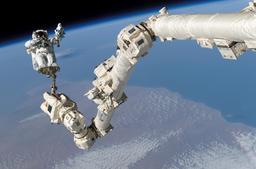Astronaute en orbite. Source : http://data.abuledu.org/URI/503a227a-astronaute-en-orbite