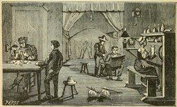 Atelier d'horloger en 1904. Source : http://data.abuledu.org/URI/524c3b2b-atelier-d-horloger-en-1904