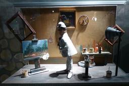 Atelier de peintre au musée des automates. Source : http://data.abuledu.org/URI/58221904-atelier-de-peintre-au-musee-des-automates
