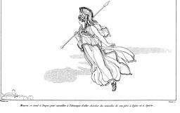 Athena dans l'Odyssée. Source : http://data.abuledu.org/URI/502151df-athena-dans-l-odyssee