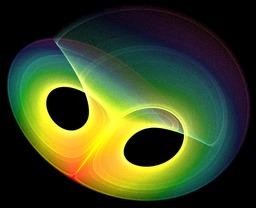 Attacteur étrange de Lorentz. Source : http://data.abuledu.org/URI/52c3f8ef-attacteur-etrange-de-lorentz