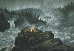 Aurore boréale en 1856. Source : http://data.abuledu.org/URI/564cd872-aurore-boreale-en-1856