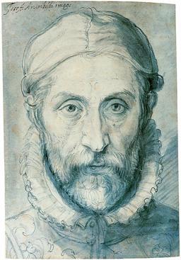 Autoportrait d'Arcimboldo. Source : http://data.abuledu.org/URI/51e6d1a2-autoportrait-d-arcimboldo