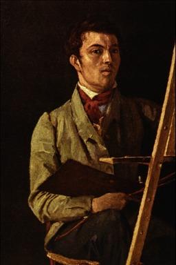 Autoportrait de Corot. Source : http://data.abuledu.org/URI/5389d22f-autoportrait-de-corot