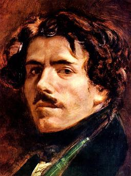 Autoportrait de Delacroix. Source : http://data.abuledu.org/URI/51a500bc-autoportrait-de-delacroix