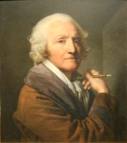 Autoportrait de Greuze en 1777. Source : http://data.abuledu.org/URI/5384bdd4-autoportrait-de-greuze-en-1777