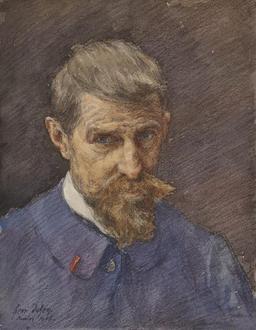 Autoportrait de Henri Duhem. Source : http://data.abuledu.org/URI/52a78335-autoportrait-de-henri-duhem