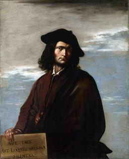 Autoportrait de Salvator Rosa. Source : http://data.abuledu.org/URI/51c16e29-autoportrait-de-salvator-rosa