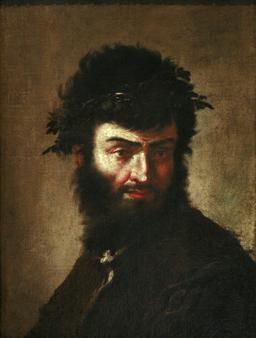 Autoportrait de Salvator Rosa. Source : http://data.abuledu.org/URI/51c16f00-autoportrait-de-salvator-rosa