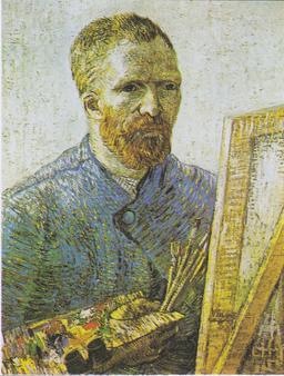 Autoportrait de Van Gogh. Source : http://data.abuledu.org/URI/5389d5fa-autoportrait-de-van-gogh