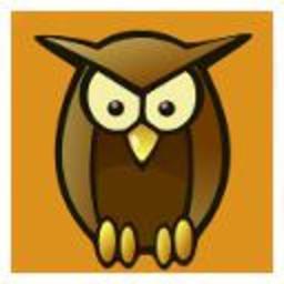 Avatar de hibou. Source : http://data.abuledu.org/URI/581b8c5e-avatar-de-hibou