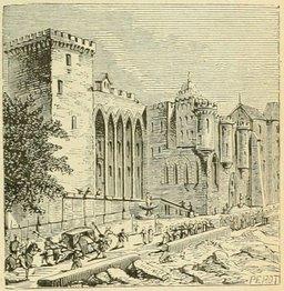 Avignon en 1877. Source : http://data.abuledu.org/URI/524dc1b1-avignon-en-1877