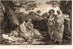 Baie de Manille par Lapérouse en 1797. Source : http://data.abuledu.org/URI/5990e1fb-baie-de-manille-par-laperouse-en-1797