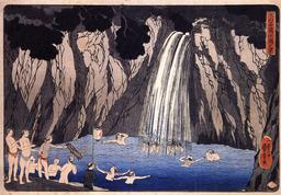 Baignade à la cascade. Source : http://data.abuledu.org/URI/5310cfc9-baignade-a-la-cascade