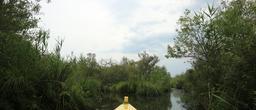 Balade en barque à Biscarrosse. Source : http://data.abuledu.org/URI/55abdd52-balade-en-barque-a-biscarrosse