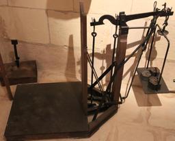 Balance au Moulin de Bléré. Source : http://data.abuledu.org/URI/55dc7c17-balance-au-moulin-de-blere