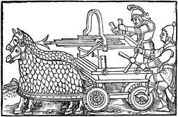 Baliste à quatre roues. Source : http://data.abuledu.org/URI/58a32f78-baliste-a-quatre-roues