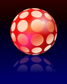 Balle rouge à points blancs. Source : http://data.abuledu.org/URI/520bf96c-balle-rouge-a-points-blancs