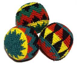 Balles de jonglage tressées. Source : http://data.abuledu.org/URI/52f55872-balles-de-jonglage-tressees