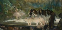 Ballet à l'Opéra de Paris en 1877. Source : http://data.abuledu.org/URI/596407c6-ballet-a-l-opera-de-paris-en-1877