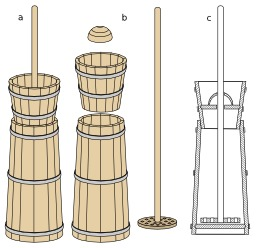 Baratte en bois verticale. Source : http://data.abuledu.org/URI/51ddcede-baratte-en-bois-verticale