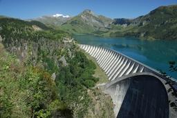 Barrage de Roselend. Source : http://data.abuledu.org/URI/501b06de-barrage-de-roselend
