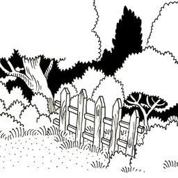 Barrière à l'entrée de la forêt. Source : http://data.abuledu.org/URI/52d48b3f-barriere-a-l-entree-de-la-foret