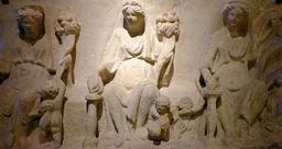 Bas-reliefs antiques au musée de Dijon. Source : http://data.abuledu.org/URI/56cedfd8-bas-reliefs-antiques-au-musee-de-dijon