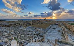 Basilique chrétienne de Kourion à Chypre. Source : http://data.abuledu.org/URI/58cdf070-basilique-chretienne-de-kourion-a-chypre